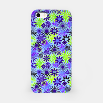 Thumbnail image of Purple and Green Daisies iPhone Case, Live Heroes