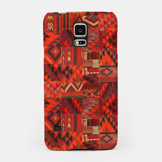 Thumbnail image of Boho Traditional Moroccan Red Collage Style Artwork Samsung Case, Live Heroes