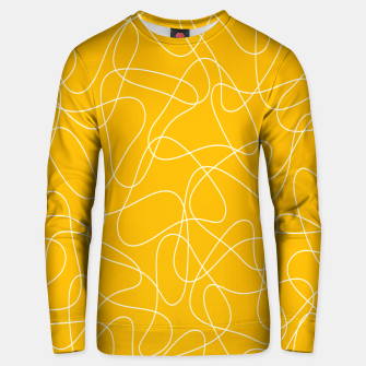 Thumbnail image of Abstract pattern - orange and white. Unisex sweater, Live Heroes
