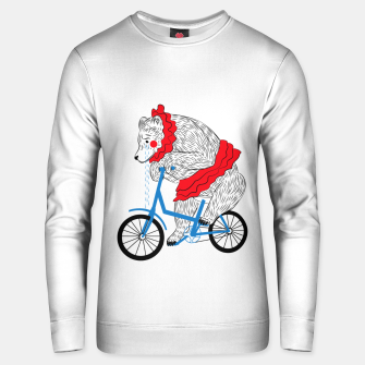 Thumbnail image of Sad Circus Bear. Animal abuse, animal rights Unisex sweater, Live Heroes