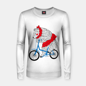 Sad Circus Bear. Animal abuse, animal rights Women sweater thumbnail image