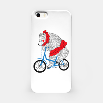 Thumbnail image of Sad Circus Bear. Animal abuse, animal rights iPhone Case, Live Heroes