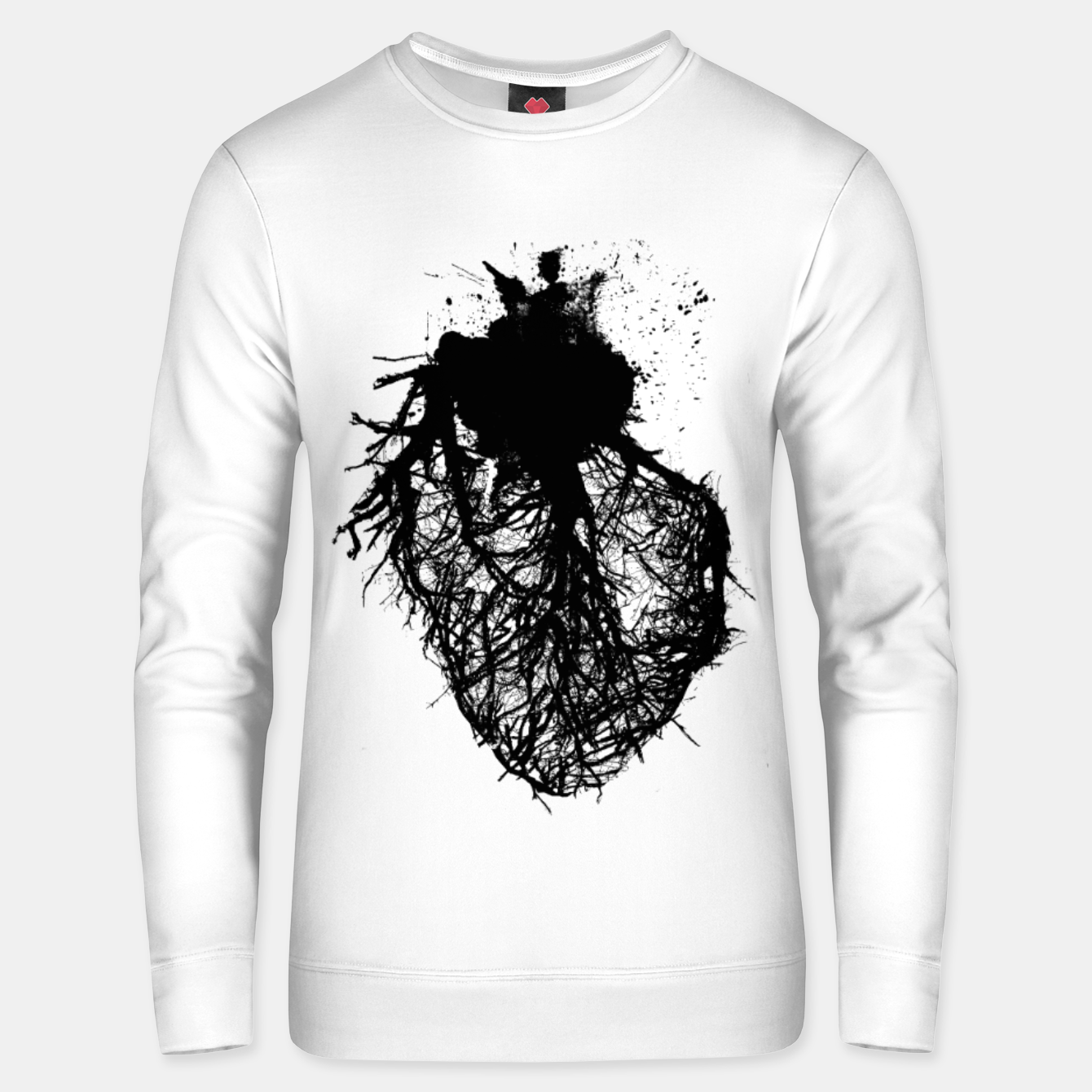 Image of Human heart Unisex sweater - Live Heroes