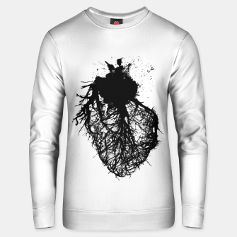Thumbnail image of Human heart Unisex sweater, Live Heroes