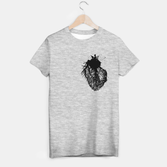 Thumbnail image of Human heart T-shirt regular, Live Heroes