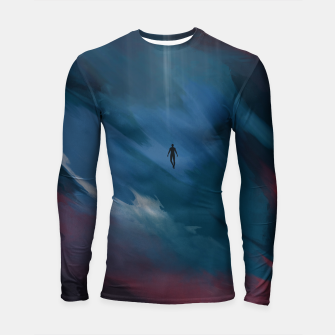 Thumbnail image of Dark night Longsleeve rashguard , Live Heroes
