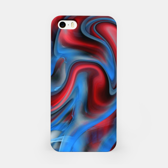 Thumbnail image of Blue Red Swirl iPhone Case, Live Heroes