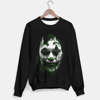 Thumbnail image of Joke Face Sudadera regular, Live Heroes