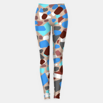 Thumbnail image of Blue Jesmonite terrazzo  Leggings, Live Heroes