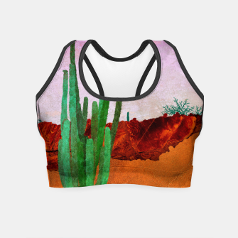 Miniaturka One plant Crop Top, Live Heroes