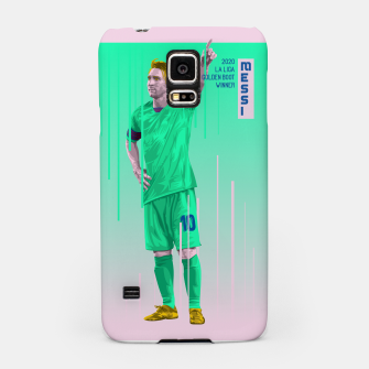 Miniatur Golden Booters - Messi Third Kit Variant Samsung Case, Live Heroes