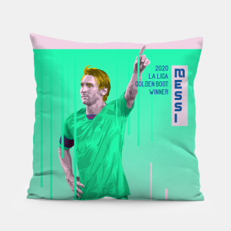 Thumbnail image of Golden Booters - Messi Third Kit Variant Pillow, Live Heroes