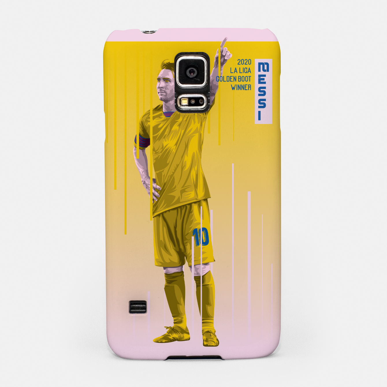 Image of Golden Booters - Messi Away Variant Samsung Case - Live Heroes