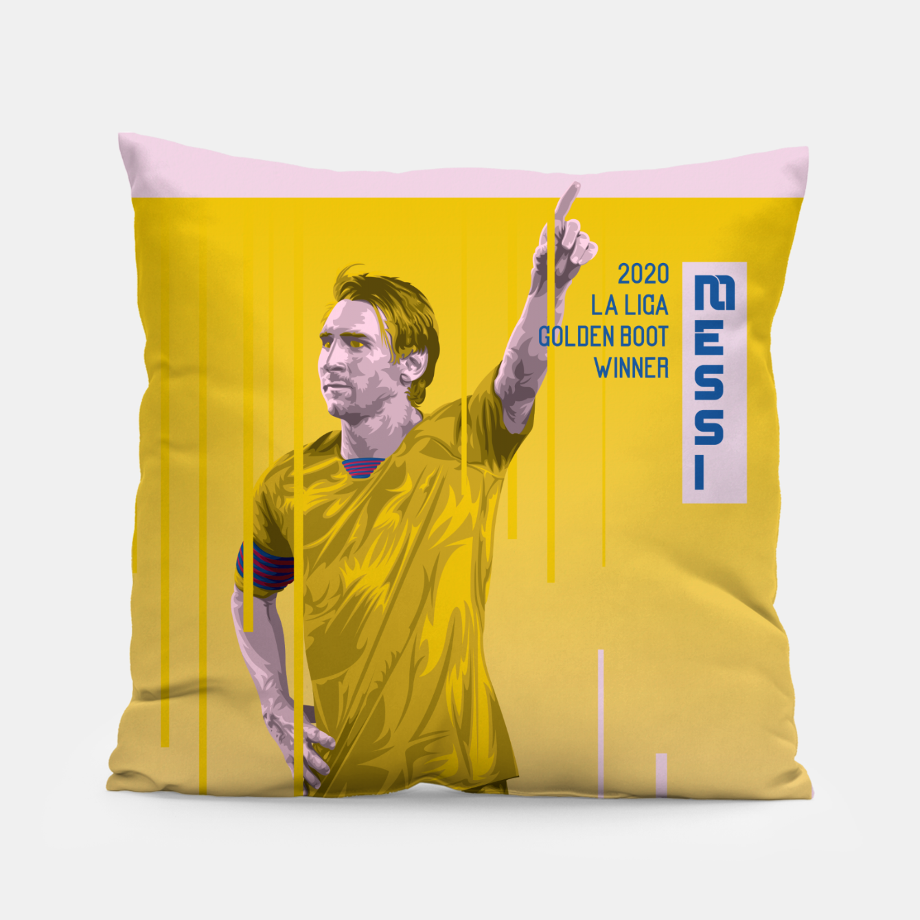 Image of Golden Booters - Messi Away Variant Pillow - Live Heroes
