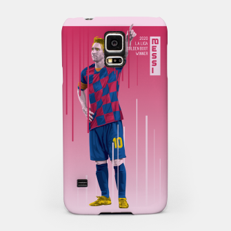 Miniatur Golden Booters - Messi  Samsung Case, Live Heroes