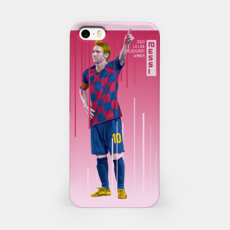 Miniaturka Golden Booters - Messi  iPhone Case, Live Heroes