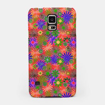 Peach and Purple Daisies Samsung Case thumbnail image