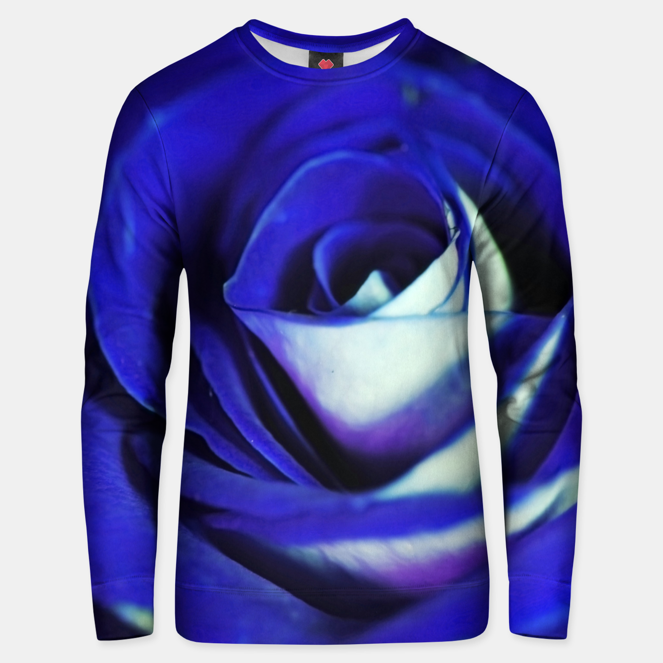 Image of Blue Rose Unisex sweater - Live Heroes