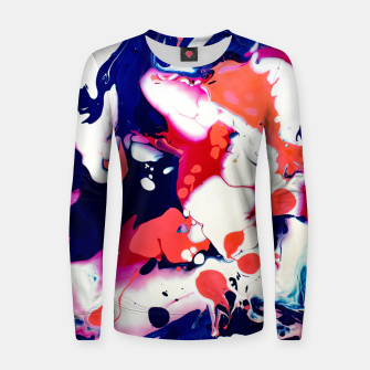 Thumbnail image of Acrylic Design Women sweater, Live Heroes