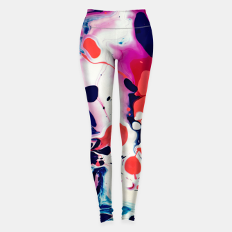 Thumbnail image of Acrylic Design Leggings, Live Heroes