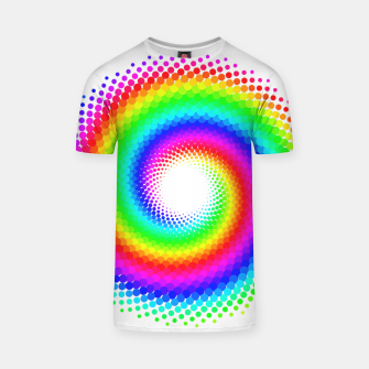 Thumbnail image of Rainbow Spiral T-shirt, Live Heroes