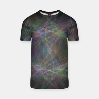 Thumbnail image of Color waves T-shirt, Live Heroes