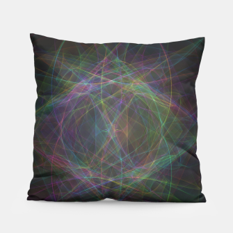 Thumbnail image of Color waves Pillow, Live Heroes