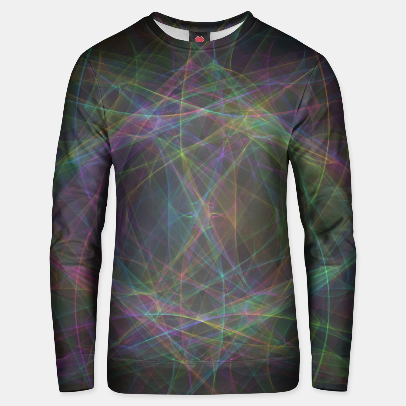 Image of Color waves Unisex sweater - Live Heroes
