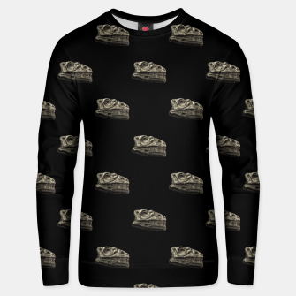 Thumbnail image of Dinosaur Skeleton Head Motif Pattern Unisex sweater, Live Heroes