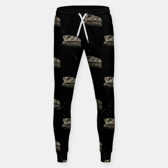Thumbnail image of Dinosaur Skeleton Head Motif Pattern Sweatpants, Live Heroes