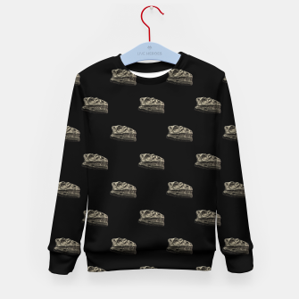 Thumbnail image of Dinosaur Skeleton Head Motif Pattern Kid's sweater, Live Heroes