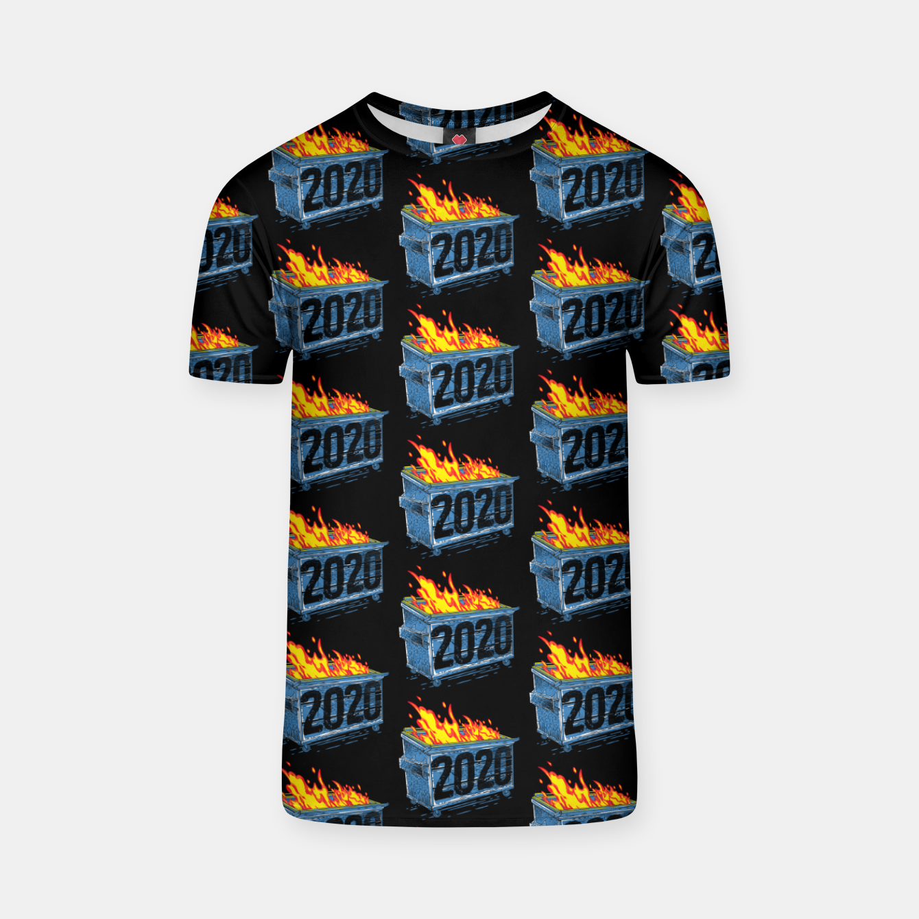 Image of Dumpster Year 2020 T-shirt - Live Heroes