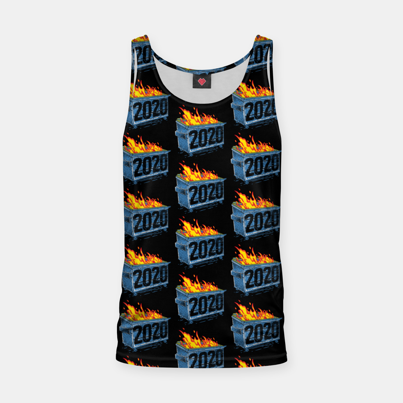 Image of Dumpster Year 2020 Tank Top - Live Heroes