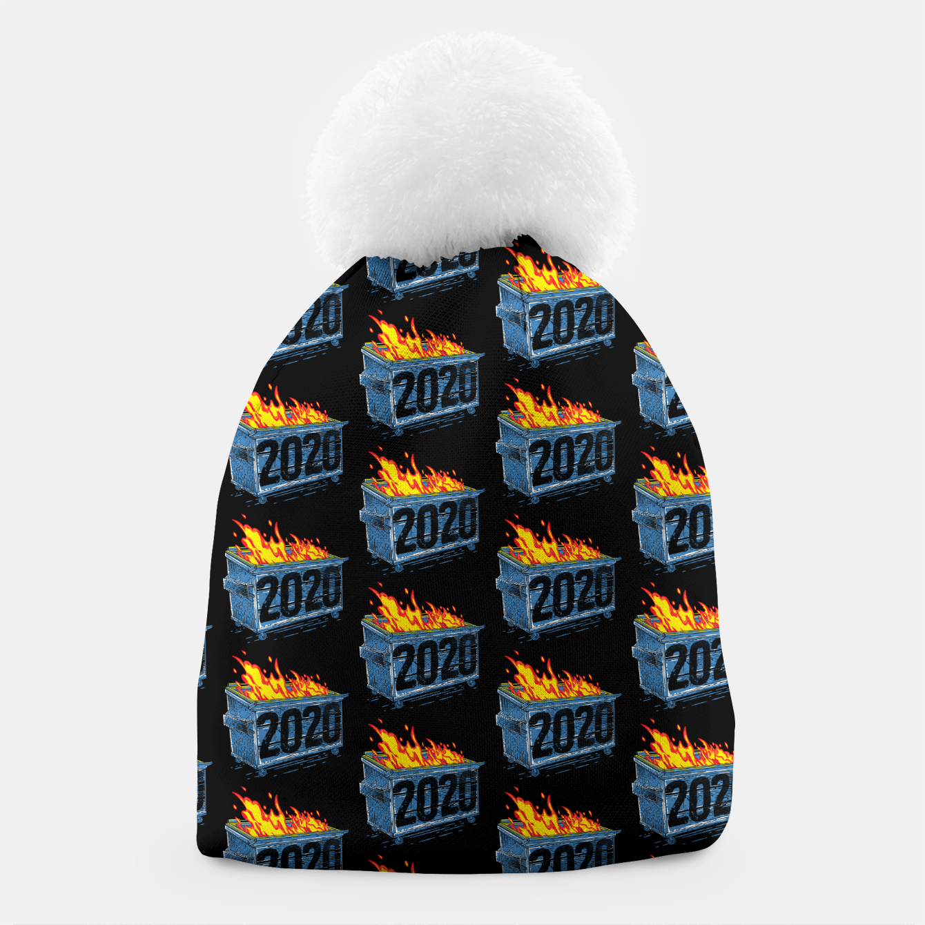 Image of Dumpster Year 2020 Beanie - Live Heroes