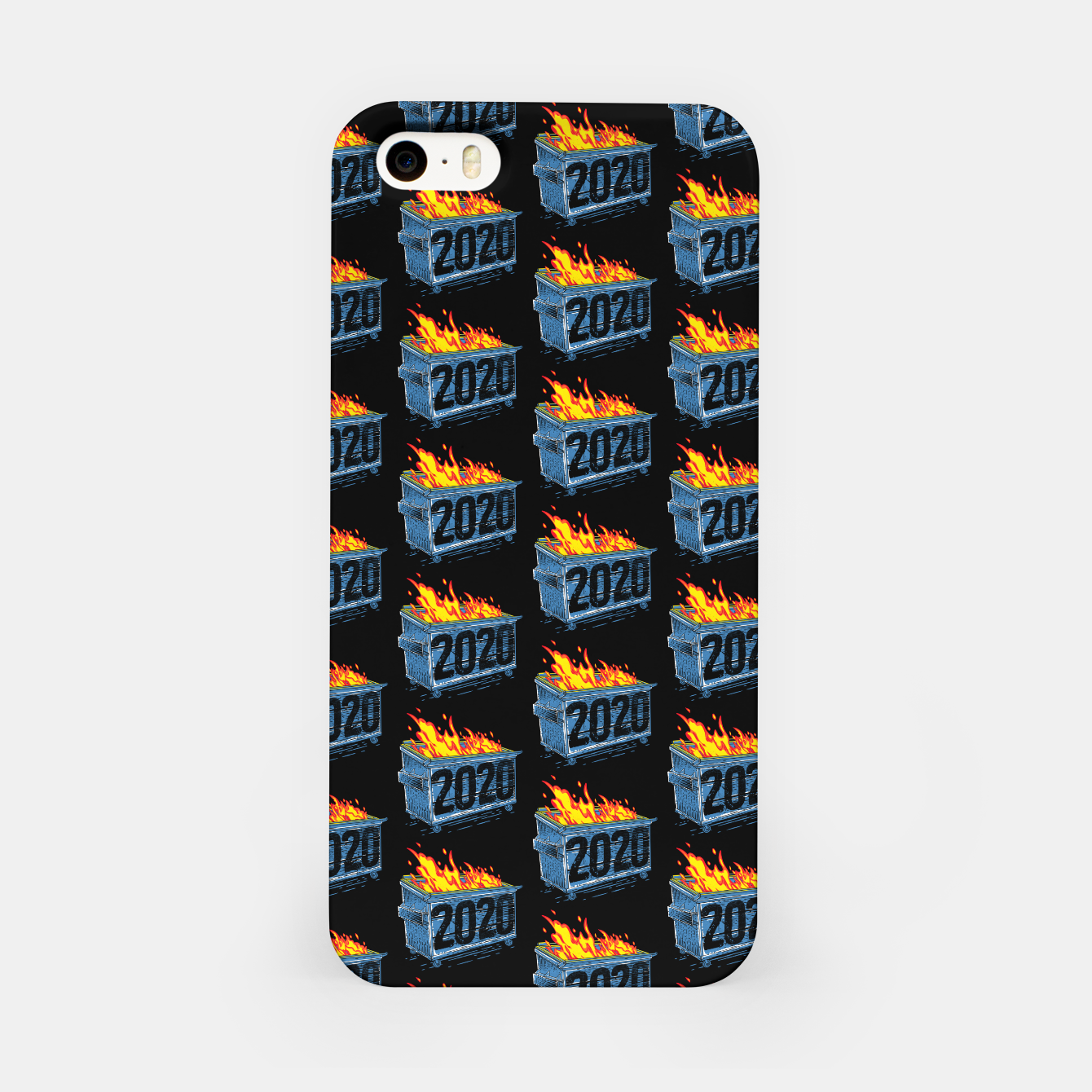 Image of Dumpster Year 2020 iPhone Case - Live Heroes