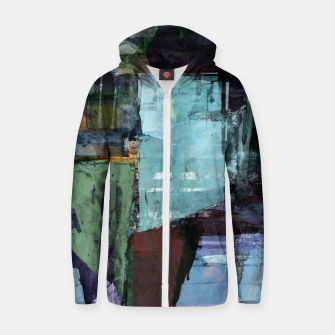 Thumbnail image of Derelict Zip up hoodie, Live Heroes