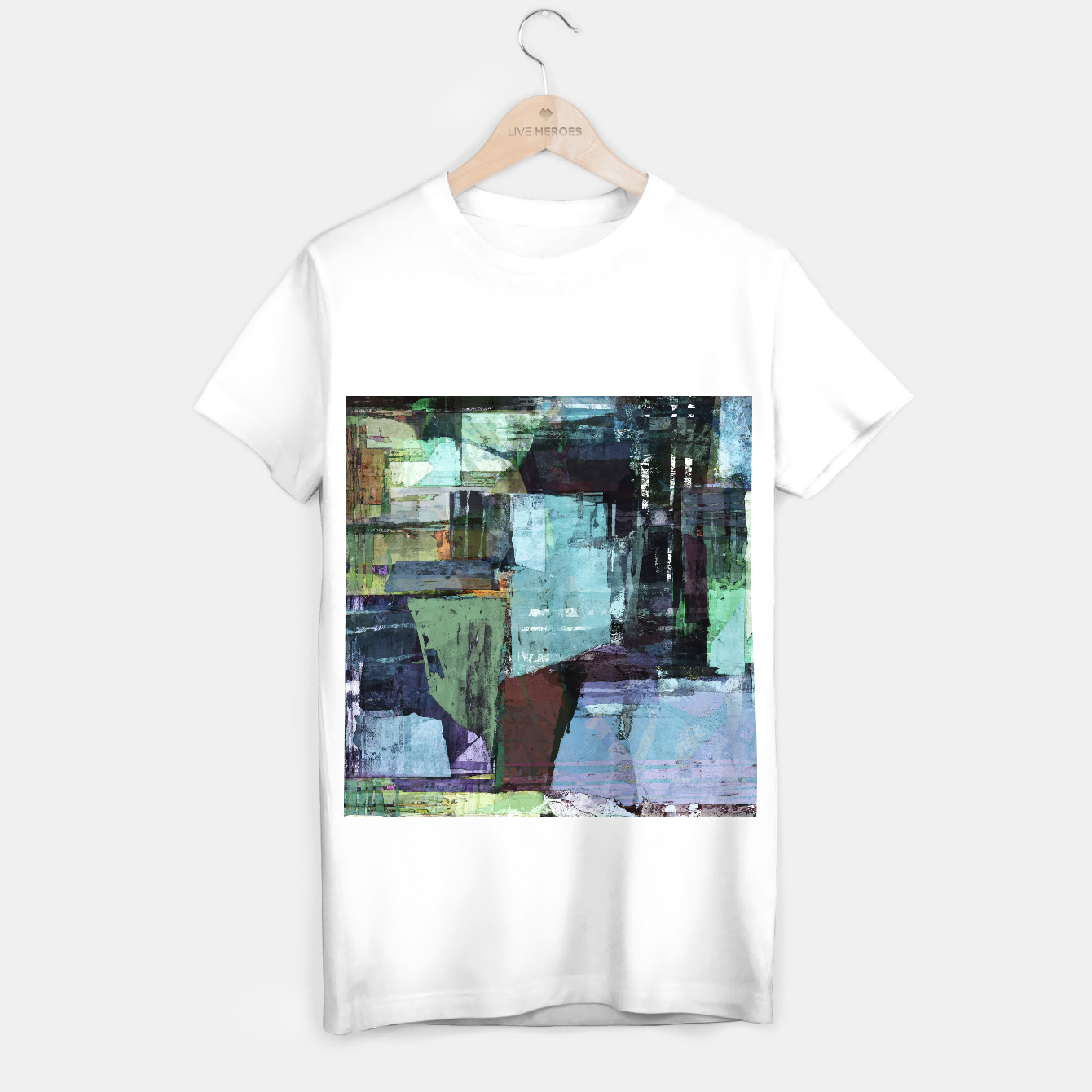 Image of Derelict T-shirt regular - Live Heroes