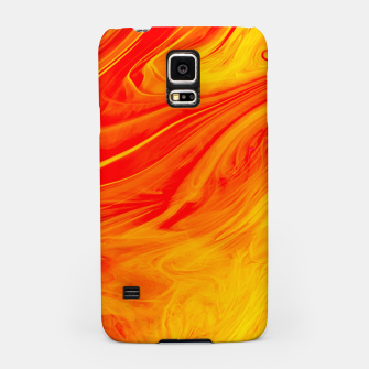 Thumbnail image of Orange Cush Samsung Case, Live Heroes