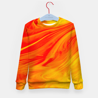 Imagen en miniatura de Orange Cush Kid's sweater, Live Heroes