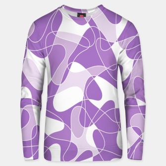 Thumbnail image of Abstract pattern - purple. Unisex sweater, Live Heroes