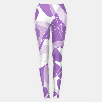 Miniature de image de Abstract pattern - purple. Leggings, Live Heroes