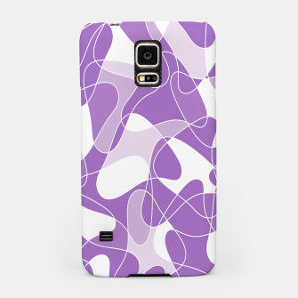 Thumbnail image of Abstract pattern - purple. Samsung Case, Live Heroes
