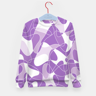 Imagen en miniatura de Abstract pattern - purple. Kid's sweater, Live Heroes