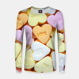 Miniaturka Love Candy Women sweater, Live Heroes