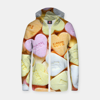 Love Candy Zip up hoodie thumbnail image