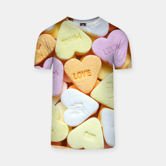 Thumbnail image of Love Candy T-shirt, Live Heroes