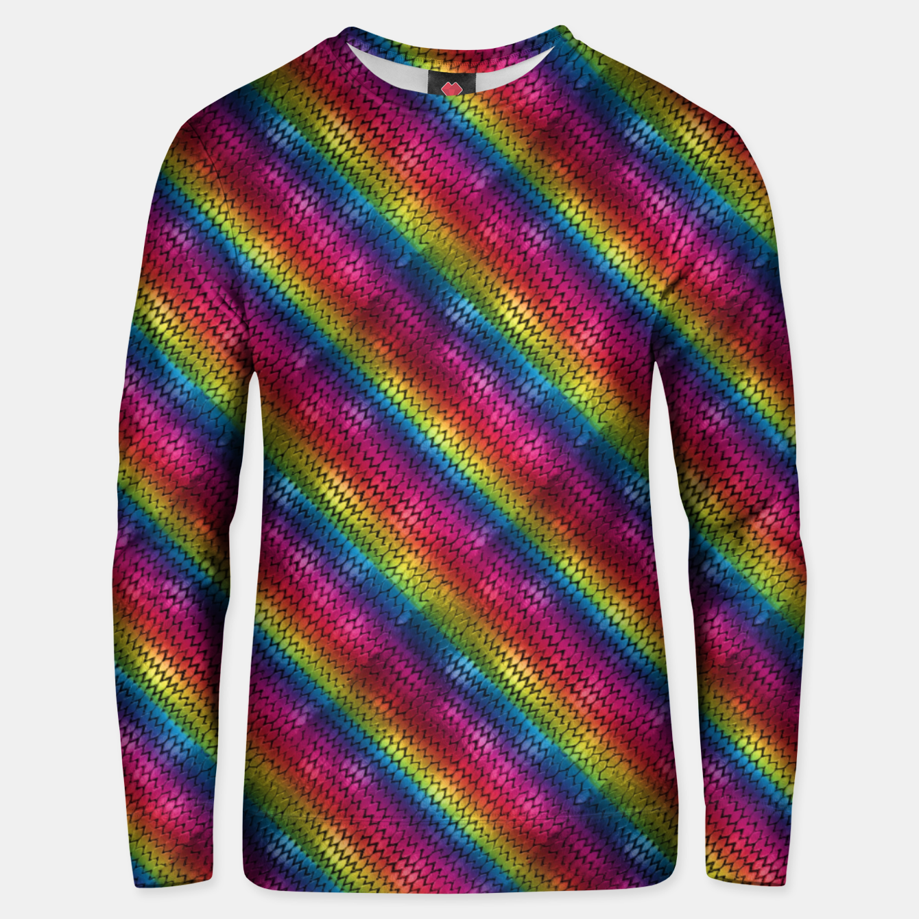 Image of Rainbow Dragon Scales Unisex sweater - Live Heroes