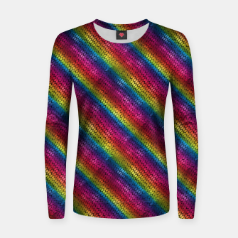 Miniaturka Rainbow Dragon Scales Women sweater, Live Heroes