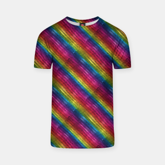 Thumbnail image of Rainbow Dragon Scales T-shirt, Live Heroes