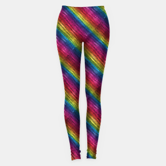 Miniature de image de Rainbow Dragon Scales Leggings, Live Heroes